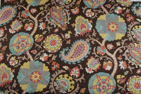 beli kain pattern kualitas tinggi floral retro kain beli murah floral retro