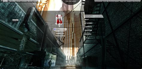 gaiaonline profile layout lnfatuated gaia profile layout by chaosfred on deviantart