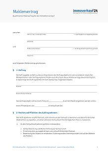 Muster Formular Widerrufsrecht Maklervertrag Muster Pdf 2016 F 252 R Verkauf Vermietung
