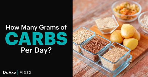 How Much Is 200 In How Many Grams Of Carbs Per Day Do You Need Dr Axe