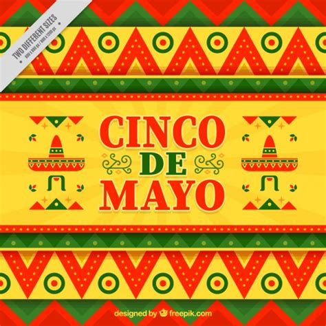 cinco de mayo background cinco de mayo background vector premium