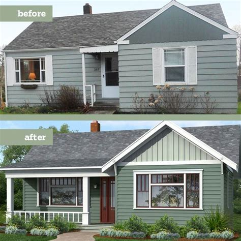 adding windows to a house siding photoshop redo plain box gets period charm