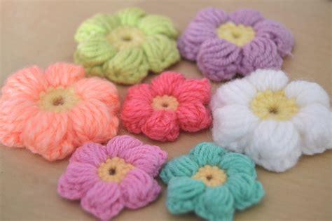 como hacer flores de crochet crochet flores puff intermedio youtube