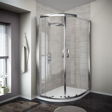 Shower Enclosure by Modena Offset Quadrant 8mm Easy Fit Shower Enclosure