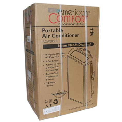 american comfort acw800ch american comfort acw800ch portable air conditioner ac cool