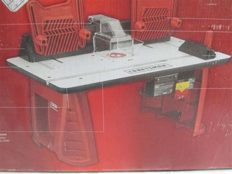 Craftsman Router Table Combo by Craftsman Router Table Router Combo Unit 937595 Ebay