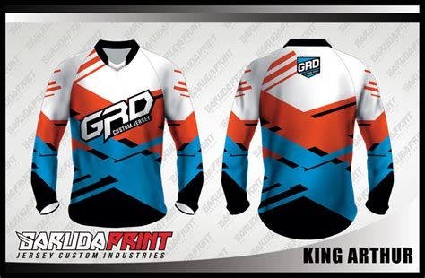 Seragam Futsal Kostum Futsal Apik koleksi desain baju sepeda downhill mtb 04 garuda