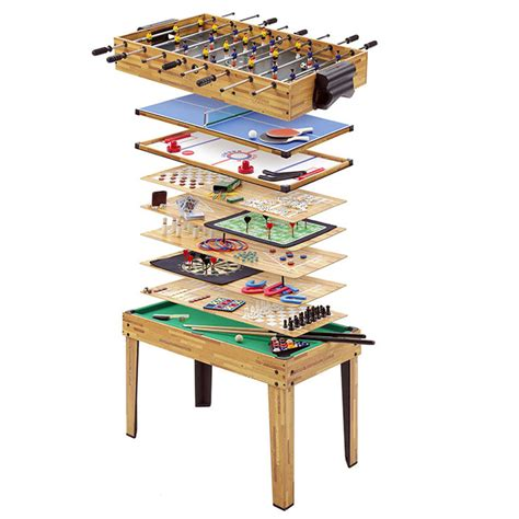 desk games to play at work mightymast 4ft 34in1 multi games mightymast yellow