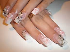 having the best looking wedding nails on your special day