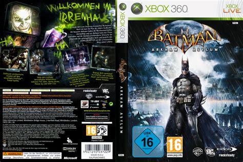 Bd Ps4 Batman Arkham Goty Edition Reg 2 batman arkham asylum dvd cover 2009 xbox 360 pal german
