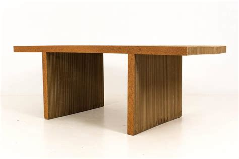 iconic easy edges dining room table by frank gehry for
