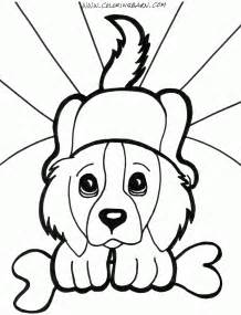 pictures of puppies to color puppy coloring pages free large images