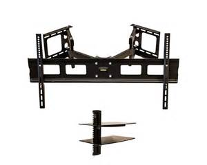 corner tv mounts with shelves corner wall mount bracket articulating lcd tv led 37 38 44