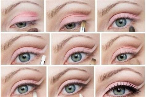 tutorial makeup eyeshadow pink 20 amazing eye make up tutorials for a perfect look