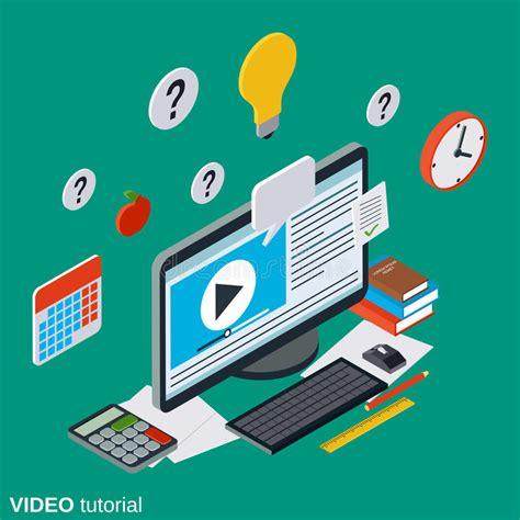 tutorial online learning video tutorial e learning online education user guide