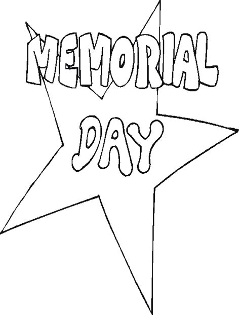 Coloring Pages For Memorial Day memorial day coloring pages
