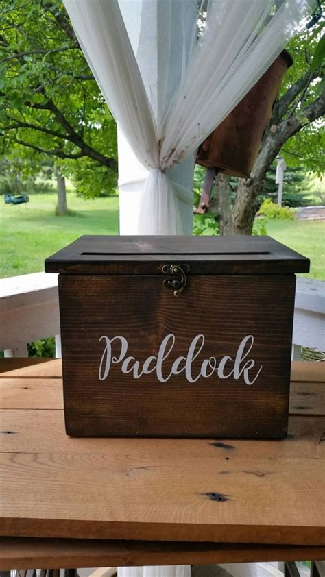 wedding box with lock card box with lock for weddings and why it s a idea