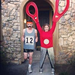 unique running with scissors couple halloween costume couple halloween couple halloween