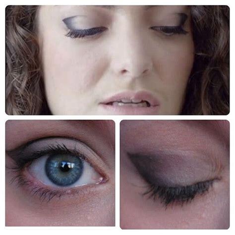 lorde makeup tutorial lorde royals eye makeup makeupy things pinterest