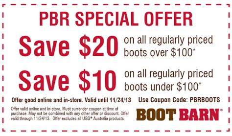boot barn coupon codes 20 boot barn coupons promo codes 2017 up to 50 autos post