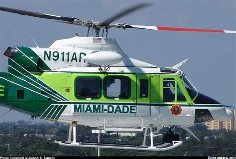 helicopter boat pictures miami bell 412 miami dade fire rescue aviation photo