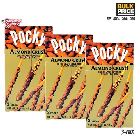 Glico Pocky Vanilla Cocoa 42g buy glico pocky almond crush chocolate 24 7