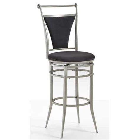 pewter bar stools cierra pewter bar stool