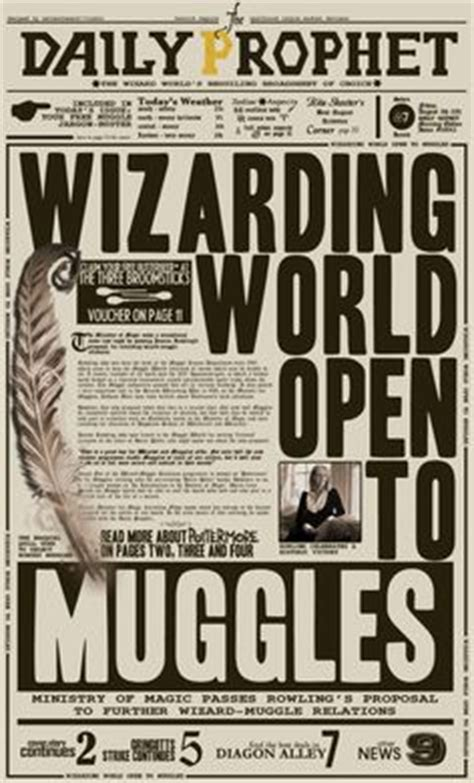 free printable quibbler harry potter daily prophet printable daily prophet harry