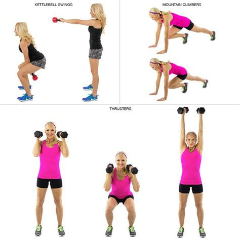 kettlebell swings cardio an at home circuit to blast 500 calories fast