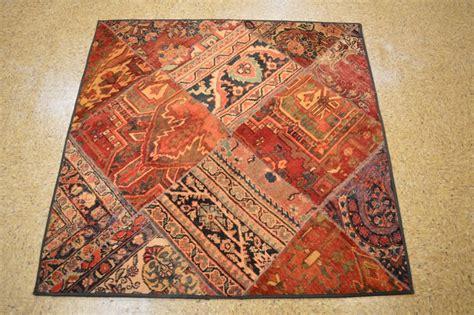 5x5 rug handmade 5x5 square patchwork rug ebay