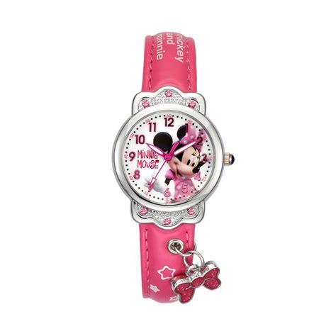 Harga Jam Tangan Quartz Perempuan jual disney ms14069 j minnie jam tangan anak perempuan
