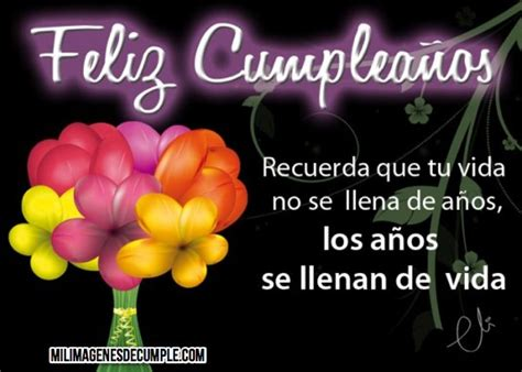 imagenes de rosas para cumpleaños con frases hermosa imagen de feliz cumplea 241 os con ramo de flores