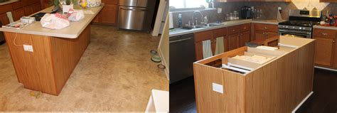 What Size Plywood For Granite Countertop by Remodelaholic How To Create Faux Reclaimed Wood Countertops