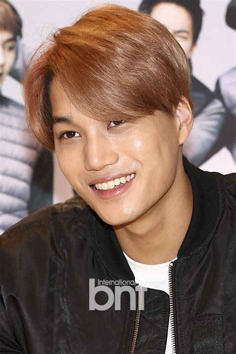 exo onehallyu exo kai dashing smile celebrity photos onehallyu