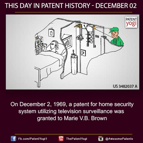 this day in patent history on december 2 1969 a patent
