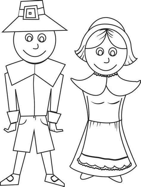 pilgrim coloring pages free printable pilgrim coloring pages for best