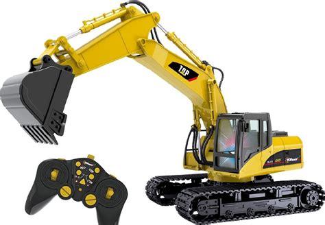 Rc Power Truck Escavator rc remote radio controlled tractor excavator