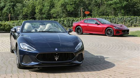 maserati italy maserati s 2018 granturismo coupe and convertible impress