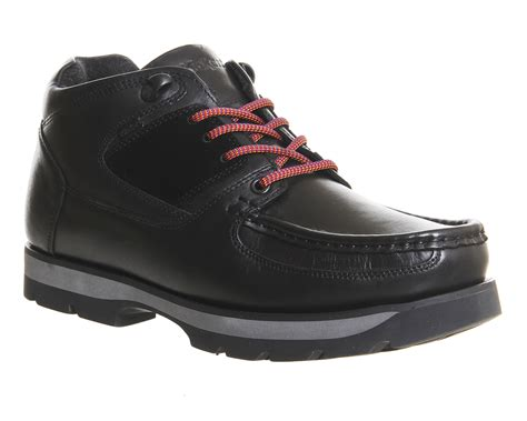 Casual Kickers New kickers bosley boots black leather casual