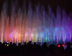 disneyland world of color dining world of color illuminates the early morning during the