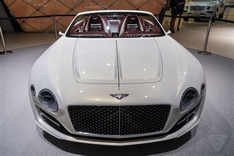bentley sports car white bentley challenges tesla s idea of electric luxury with a