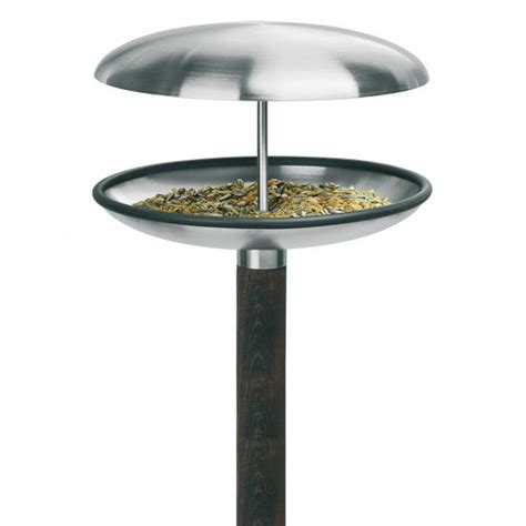 patio accessories stainless steel bird feeder bird bath