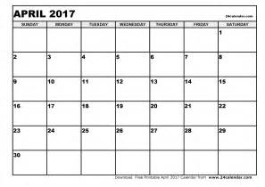 april 2017 calendar pdf yearly calendar printable