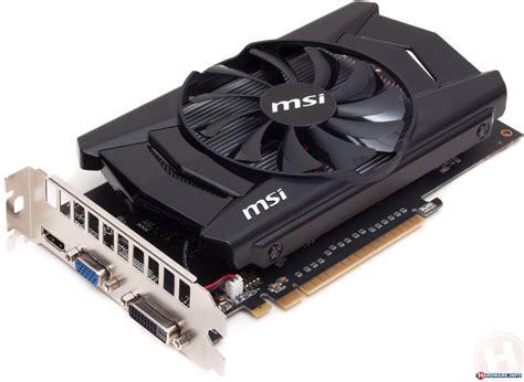 Vga Nvidia Msi N750 Ti 2gd5ocv1 15 amd radeon r7 260 x 265 and nvidia geforce gtx 750 ti cards review msi n750 ti 2gd5 oc