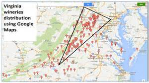 Virginia Wine Map by Geomarketing Opportunities For Virginia Wineries Aaec