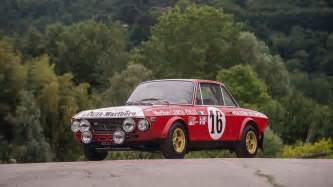 Lancia Race Cars A Racing 1970 Lancia Fulvia Hf Fanalone Is Up For Sale
