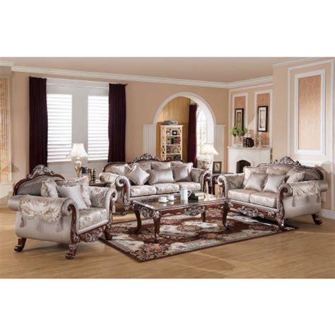 meridian 602 cesar 3 pieces living room set in black fill my casa