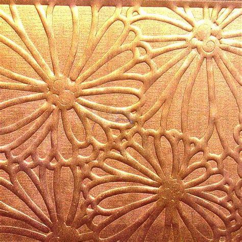 framed flowers on copper sheet craft ideas pinterest copper art sheet metal and copper on pinterest