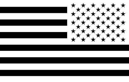 printable american flag black and white 10 usa flag vector black images black american flag clip