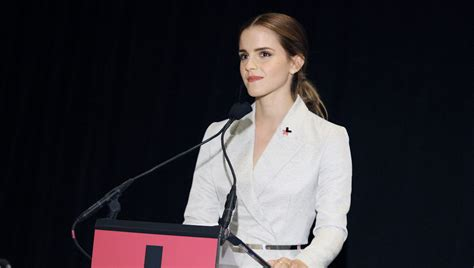 emma watson biography un watch feminist emma watson delivers amazing speech on